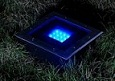 Solar underground lights.