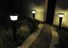 Solar Lawn Lamp.