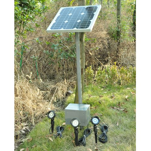 Solar Light Kits built up a solar light to bright up Your Garden.