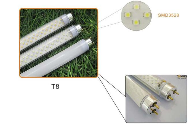 Led Tubes to replace fluorescent tubes.
